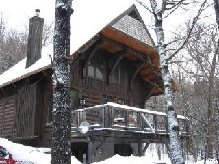 Tremblant Nord - 4 Bedroom Luxurious log cottage - Lac-Superieur vacation rentals
