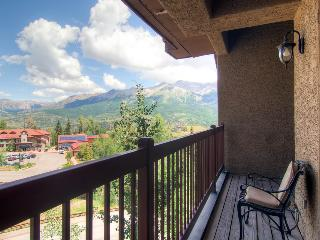 Congratulations. You made it to the top. - Mountain village, private balcony, community hot tub and game room access - The Summi - Mountain Village vacation rentals