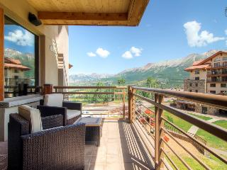 In the center of the action - Private deck, Mountain Village core - The Plaza at Granita - Mountain Village vacation rentals