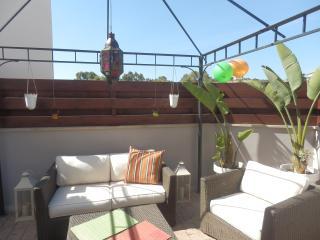 2b Ground floor Garden apt with pool - Pyrgos - Parekklisia vacation rentals