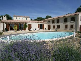 Luxury South of France villa rental with pool and tennis court sleeps 12 - Montouliers vacation rentals