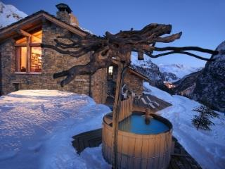 Chalet Colinn catered chalet sauna et hot tub - Val-d'Isère vacation rentals