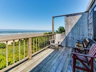 Two vintage, waterfront homes in one - walk to the beach, dogs OK! - Waldport vacation rentals