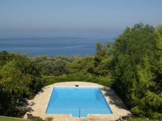 Luxury Villa with pool + tennis court - Nea Dimmata vacation rentals