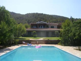 Luxury Villa with pool + tennis court - Nea Dimmata vacation rentals