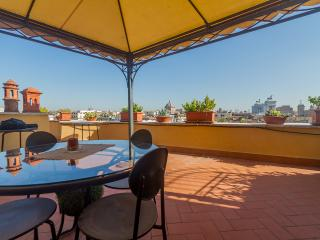 A sailboat of the rooftops of Rome - Rome vacation rentals
