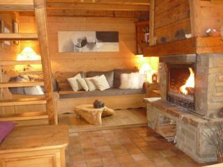 Chalet  indépendant avec cheminée, vue Mont-Blanc - Sallanches vacation rentals