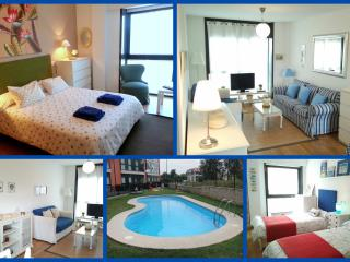 Perfect Condo with Shared Outdoor Pool and Television - Mugardos vacation rentals