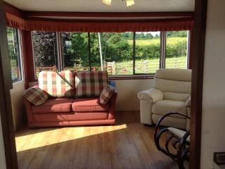 Mold, North Wales, 4/5 berth caravan in farm yard - Nercwys vacation rentals
