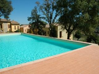 Holiday apartment with swimming pool and patio in the Tuscan hills, sleeps 7 - Radicondoli vacation rentals