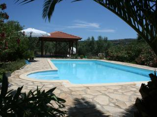 Luxury villa. 8 mins walk to village, Large Pool - Gavalochori vacation rentals