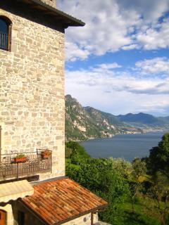 apartments Zorzino castle iseo lake - Riva di Solto vacation rentals
