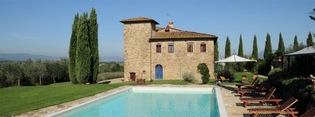 8 bedroom Villa in Bellavista, Firenze Area, Tuscany, Italy : ref 2230222 - Image 1 - Poggiarello - rentals