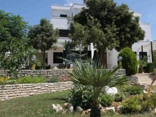 Spacious 5+1 apart. with see view and terrace - Rab vacation rentals