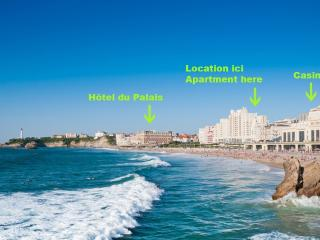BEACHFRONT CNTRE BIARRITZ WIFI - Anglet vacation rentals