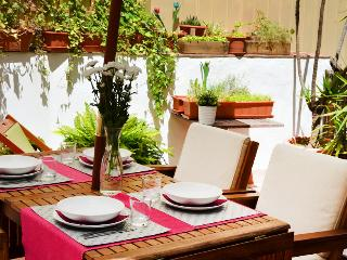 Beautiful flat with terrace - Barcelona vacation rentals