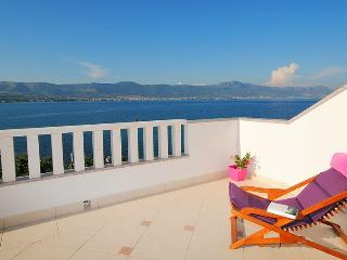 Lovely view apartment at seafront - Arbanija vacation rentals