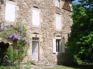 2 bedroom Guest house with Private Fishing in Vernoux-en-Vivarais - Vernoux-en-Vivarais vacation rentals