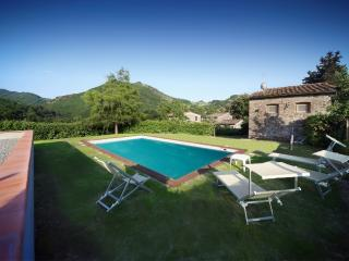 Cosy Tuscan farmhouse in beautiful hills, private grounds, swimming pool and garden - Borgo a Mozzano vacation rentals