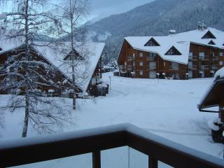 Nice Studio with Elevator Access and Balcony - Les Contamines-Montjoie vacation rentals