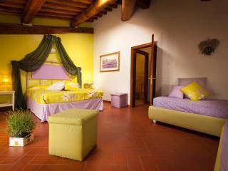 B&B Antico Granaione Lavender bedroom - Rapolano Terme vacation rentals