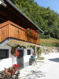 Nice Chalet with Internet Access and Central Heating - Bohinjska Bela vacation rentals