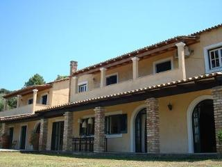 Villa with Private Beach - Messonghi vacation rentals