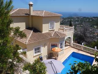 Villa Flores - panoramic seaview, private pool - Moraira vacation rentals