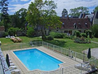 Razay - Le Rougegorge; Carp Lake, Gym, Playground - Loches vacation rentals