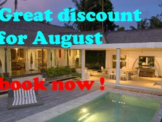great villa for rent in all of August !!! - Canggu vacation rentals