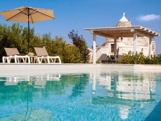 Trullo Bacco: Peaceful Countryside Trullo w Pool - Locorotondo vacation rentals