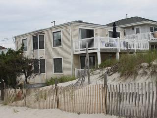 OCEAN FRONT! Step right onto the beach (1st Floor) - Long Beach Island vacation rentals