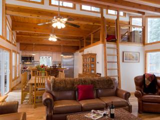 Luxury Family Cabin with Sauna, Hot-Tub, Game Room - Carnelian Bay vacation rentals