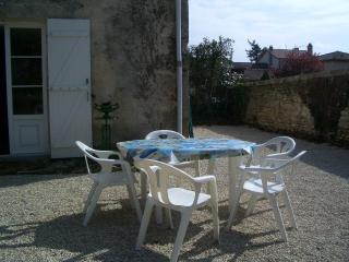 Sunny Townhouse with Television and Central Heating - Saint Laurent de Ceris vacation rentals