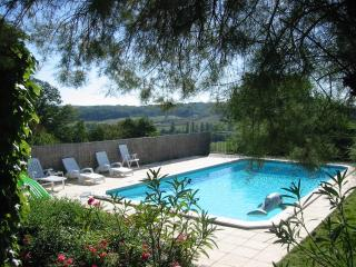 Large Country Cottage own Private Gardens and Pool - Duras vacation rentals