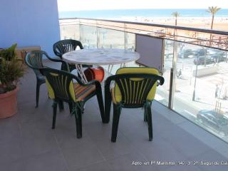 spectacular beachfront apartment! - Segur de Calafell vacation rentals