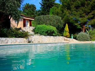 Beautifully rustic villa with private pool and breathtaking views in Provence - Saint-Jeannet vacation rentals