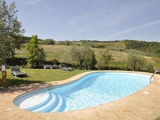 3 bedroom Villa in Gambassi Terme, Firenze Area, Tuscany, Italy : ref 2230388 - Gambassi Terme vacation rentals