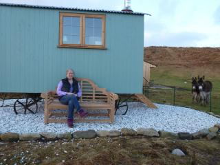 Beautiful Shepherds hut with Outdoor Dining Area and Water Views - Broadford vacation rentals