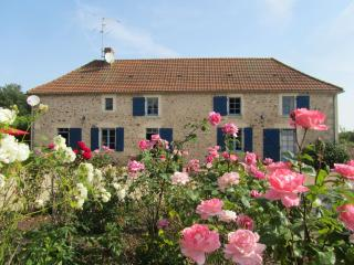 Beautiful Farmhouse Barn with Satellite Or Cable TV and Television - Vicq-sur-Gartempe vacation rentals