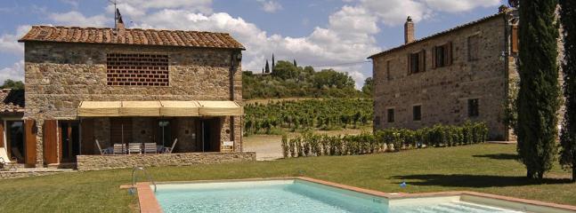 7 bedroom Villa in Tignano, Firenze Area, Tuscany, Italy : ref 2230447 - Image 1 - Barberino Val d'Elsa - rentals