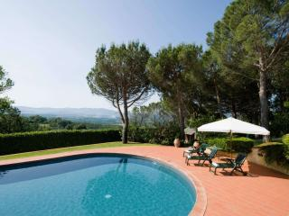 Nice villa in Tuscany hills with large garden and private pool, sleeps 9 - Capolona vacation rentals