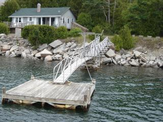 Oceanfront Cottage on Somes Sound w/Dock & Mooring - Mount Desert vacation rentals