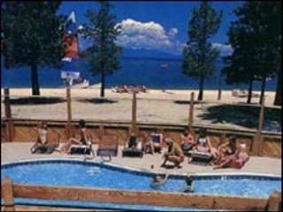 Private 400 ft Sandy Beach with warmer lake water - South Lake Tahoe vacation rentals