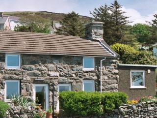 Tai Newyddion Cottage with Garden. - Llanaber vacation rentals