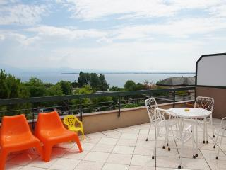 Penthouse with large terrace and stunning views - Sirmione vacation rentals