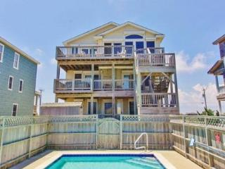 OCEANFRONT with PRIVATE POOL, HOT TUB, ELEVATOR & REC ROOM - Nags Head vacation rentals