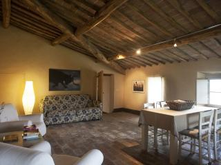 Attic apartment in Tuscan villa with pool near San Galgano Abbey, Siena. - Monticiano vacation rentals