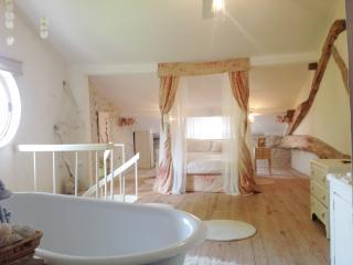 Romantic farmhouse, 'La Croix' - Bouteilles-Saint-Sebastien vacation rentals