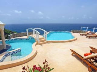 Private 4 bedroom, 4 bathroom villa that enjoys uninterrupted views out to sea - Cap Estate vacation rentals
